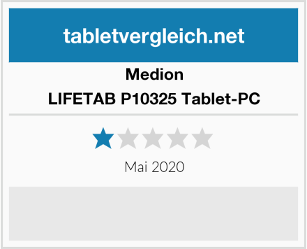 Medion LIFETAB P10325 Tablet-PC Test