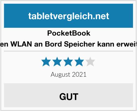 PocketBook Mit Touchscreen WLAN an Bord Speicher kann erweitert werden840 Test