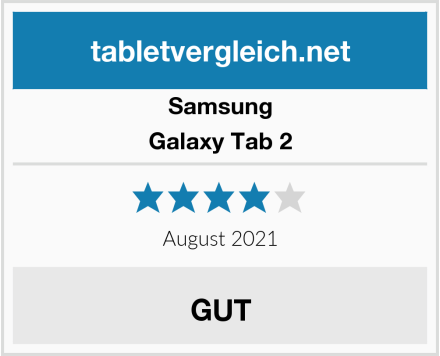 Samsung Galaxy Tab 2 Test