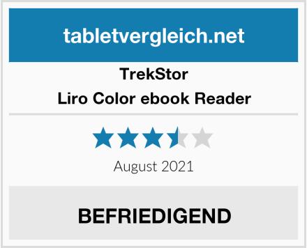 TrekStor Liro Color ebook Reader Test
