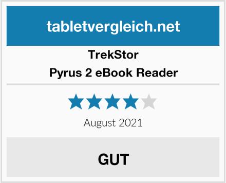 TrekStor Pyrus 2 eBook Reader Test