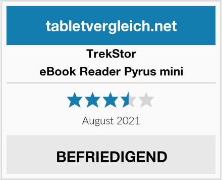 TrekStor eBook Reader Pyrus mini Test