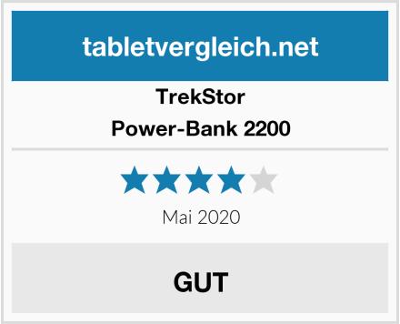 TrekStor Power-Bank 2200 Test