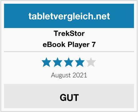 TrekStor eBook Player 7 Test