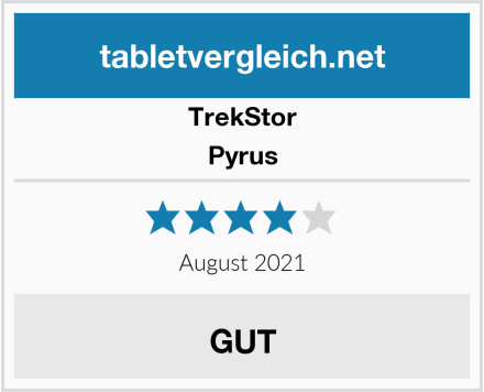 TrekStor Pyrus Test