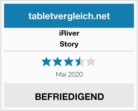 iRiver Story Test