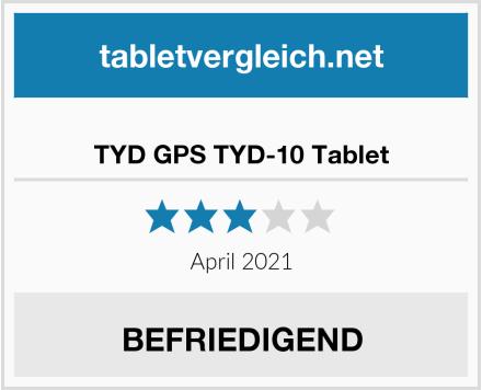 TYD GPS TYD-10 Tablet Test