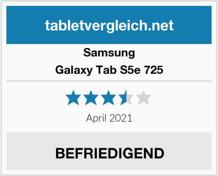Samsung Galaxy Tab S5e 725 Test