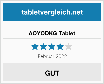 AOYODKG Tablet Test