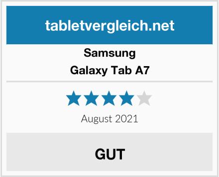 Samsung Galaxy Tab A7 Test
