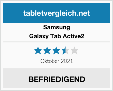 Samsung Galaxy Tab Active2 Test