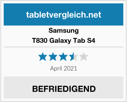 Samsung T830 Galaxy Tab S4 Test
