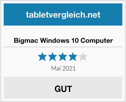 Bigmac Windows 10 Computer Test