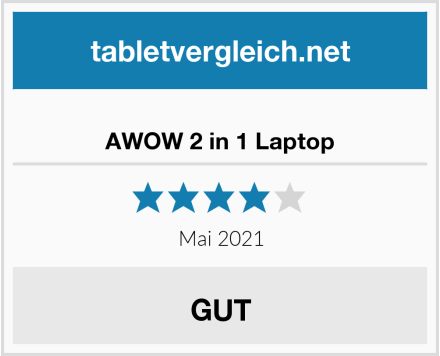 AWOW 2 in 1 Laptop Test