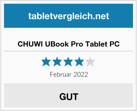 CHUWI UBook Pro Tablet PC Test