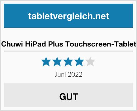 Chuwi HiPad Plus Touchscreen-Tablet Test
