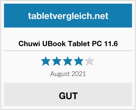 Chuwi UBook Tablet PC 11.6 Test