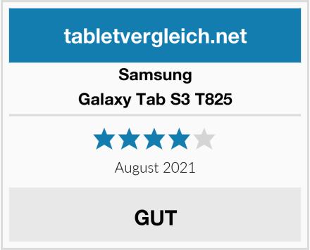 Samsung Galaxy Tab S3 T825 Test