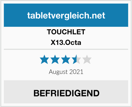 TOUCHLET X13.Octa Test